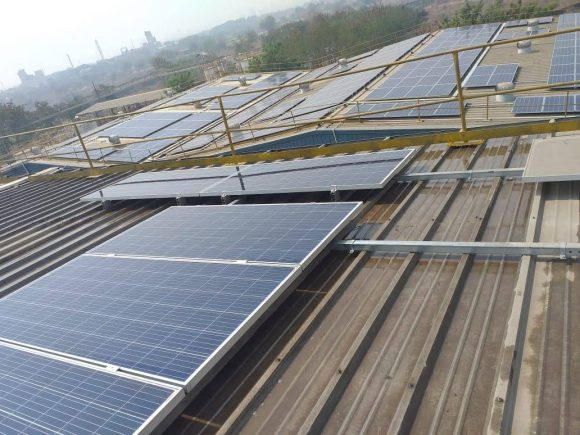550 kWp, Paint and Paint Products Manufacturing Company, Taloja(MH)