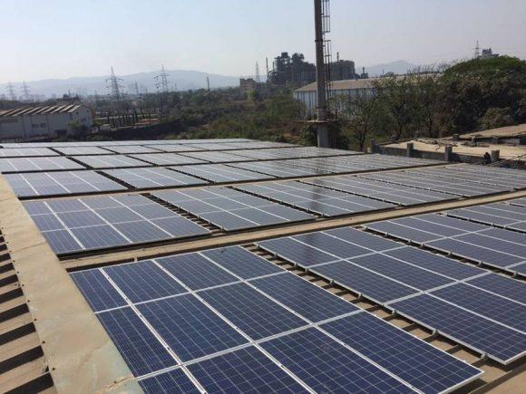 1 MWp, Battery Manufacturing Company, Taloja (MH)