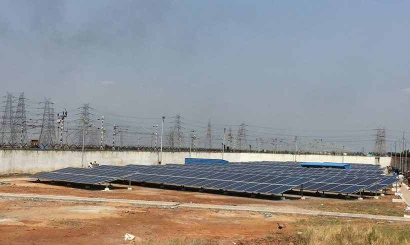258 kWp, Oil and Natural Gas Production Company, Ennore (TN)
