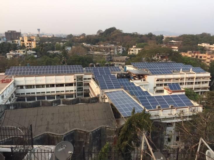 140 kWp, College of Pharmacy, Mumbai (MH)