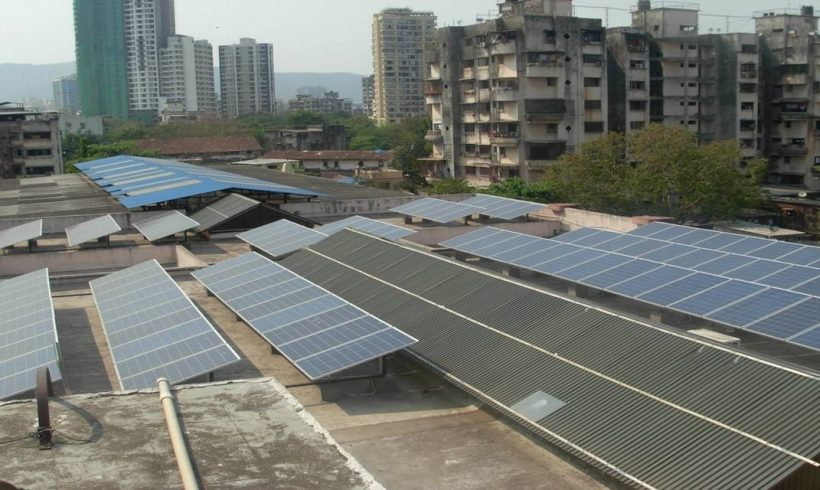136 kWp, Municipal Building, Thane (MH)